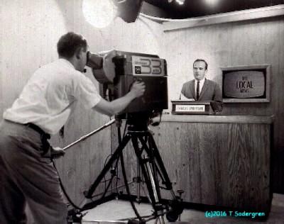A live newscast on WCHU/WICD