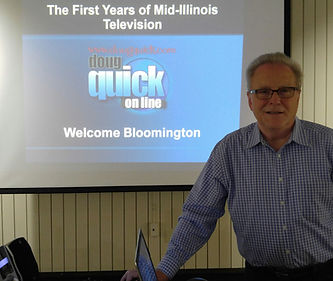 Doug Quck at the Bloomingto Public Library