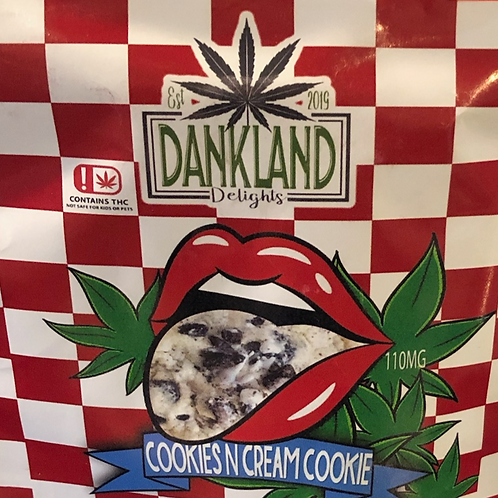COOKIES AND CREAM COOKIE 110MG