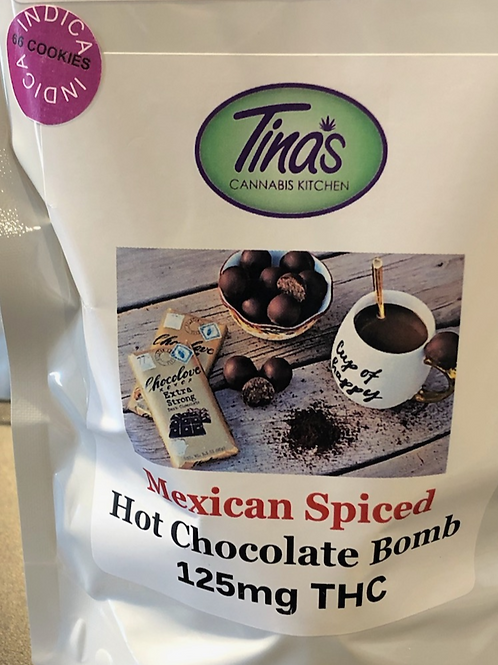 MEXICAN SPICED HOT CHOCOLATE BOMB 125 MG THC