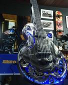 Guitarra Gibson Led Azul