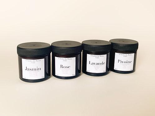 Les Florales - Pack de 4 petites bougies parfumées