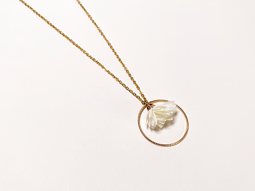 Collier Faustine - Blanc