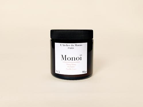Monoï - Bougie parfumée n°5