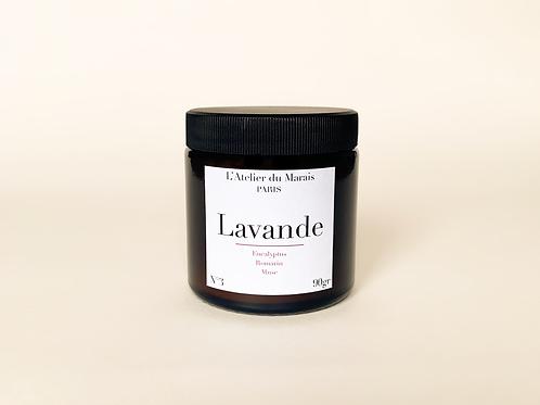 Lavande - Bougie parfumée n°3