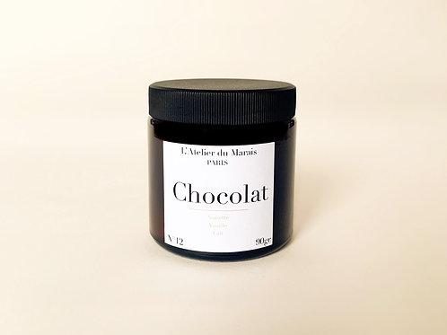 Chocolat - Bougie parfumée n°12
