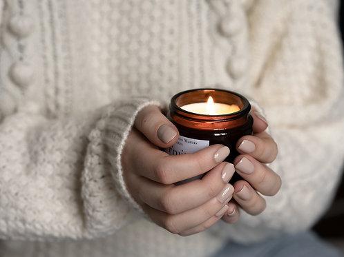 Coffret à personnaliser de 4 petites bougies parfumées