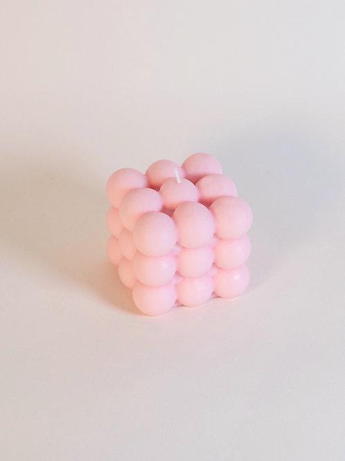 Bougie bubble - Light Pink