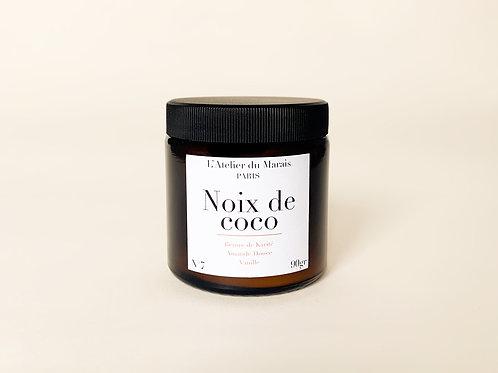 Noix de Coco - Bougie parfumée n°7