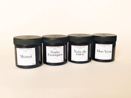 Les Exotiques - Pack de 4 petites bougies parfumées
