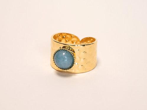 Bague Morgane - Agate bleue