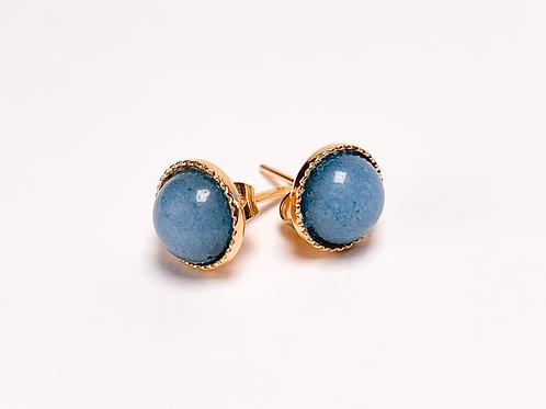 Clous Dita - Agate bleue