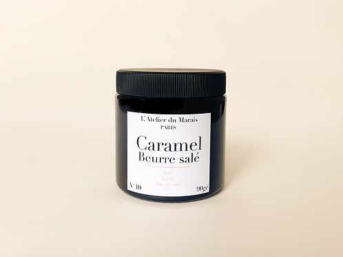 Caramel Beurre Salé - Bougie parfumée n°10