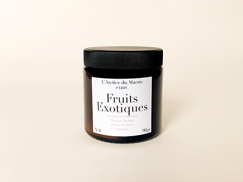 Fruits exotiques - Bougie parfumée n°6