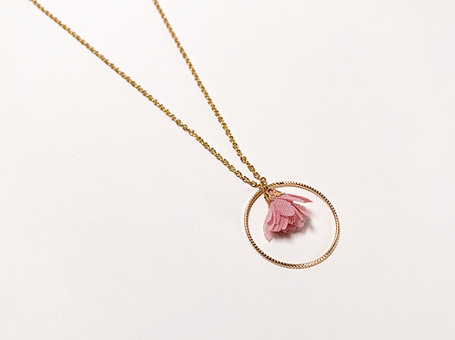 Collier Faustine - Rose