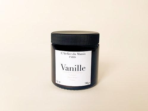 Vanille de Madagascar - Bougie parfumée n°9