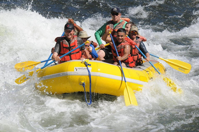 GO WHITEWATER RAFTING!