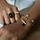 Thumbnail: Bracelet Emily - Agate noire