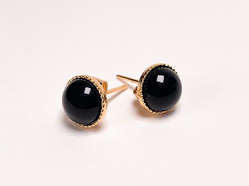 Clous Dita - Agate noire