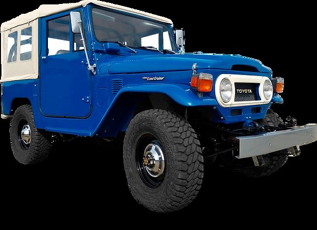Ulproc - Our customers - Toyota FJ40 1975 Medium Blue