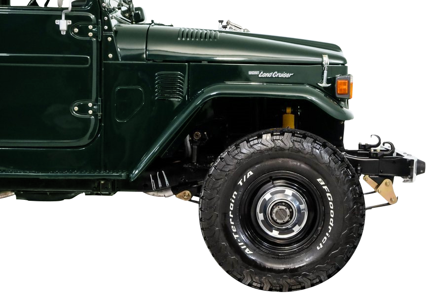 Ulproc - About us - Toyota FJ40 1981 Spring Green