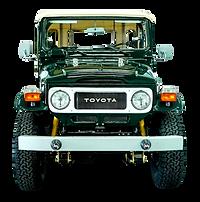 TOYOTA FJ40 1981 SPRING GREEN