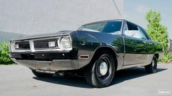 DODGE DART GT 1970 TITANIUM GRAY