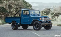 TOYOTA FJ45 1985 CADET BLUE