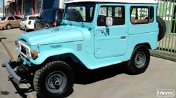 TOYOTA FJ40 1982 CAPRI BLUE
