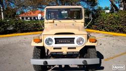 TOYOTA FJ40 1977 BEIGE MATTE