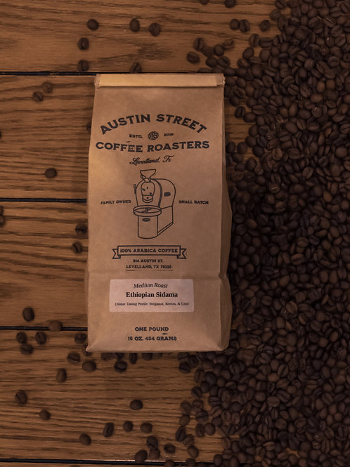 Ethiopian Sidama - Medium Roast