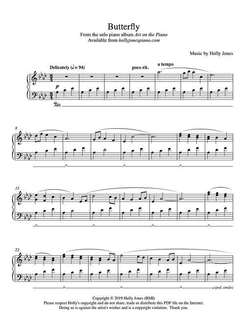 Butterfly - Sheet Music