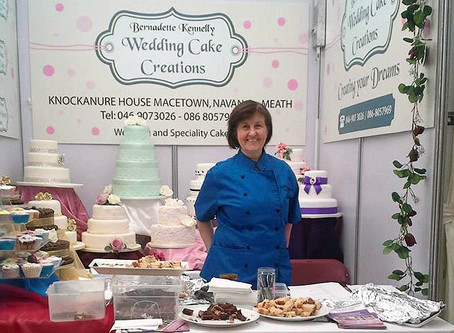 Meet Bernie, creating beautiful wedding cakes for couples.