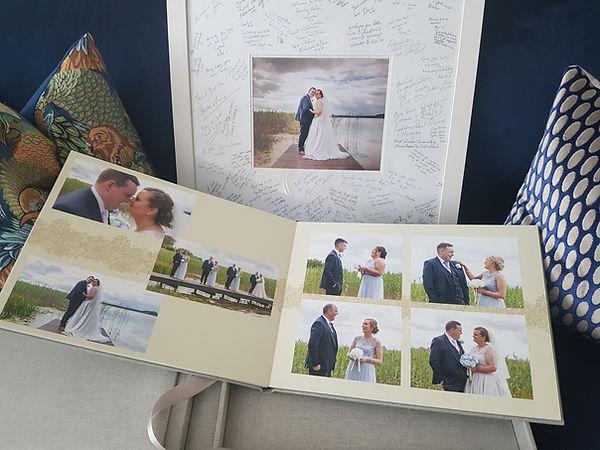 Meath Wedding Photographer Album & Frame