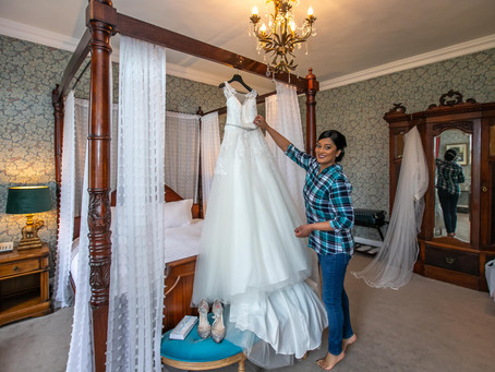 Vinita & Stephen | Real Wedding | Boyne Hill House