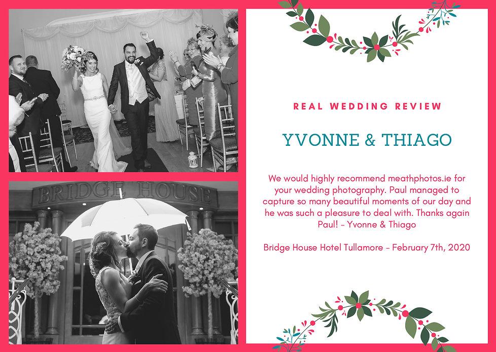 MeathPhotos Reviews Wedding Photography