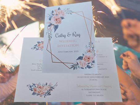 Wedding Invites Designed with Love
