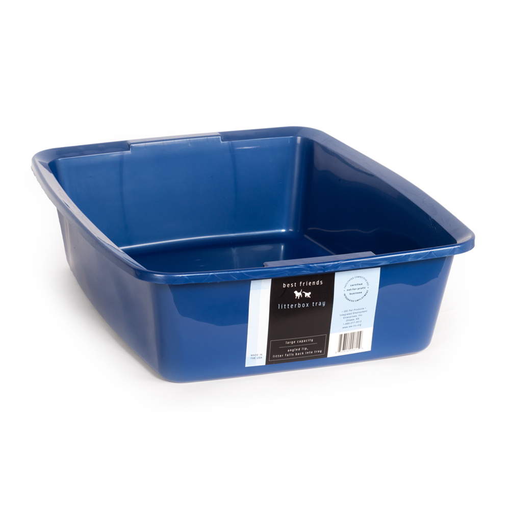 Litterbox-tray/blue