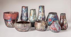 Duke Pottery Raku
