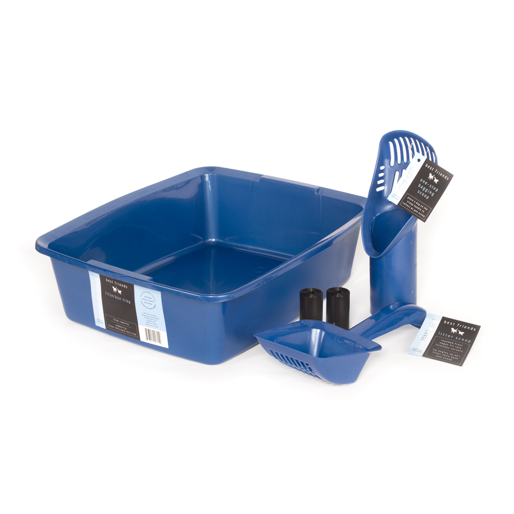 Litterbox-tray kit