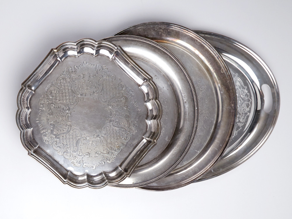 Silver Plated Serving Pieces
