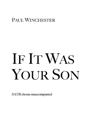 If It Was Your Son Title.png