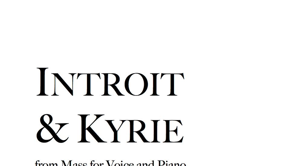 Introit & Kyrie - Low Voice