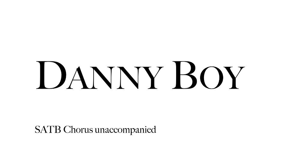 Danny Boy (20 Copies)