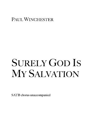 Surely God Is My Salvation Title.jpg