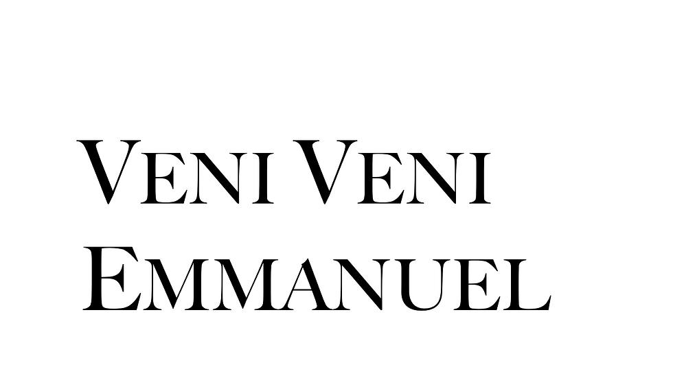 Veni Veni Emmanuel SSAA (20 Copies)