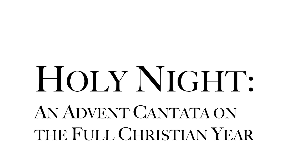 Holy Night - Full Score