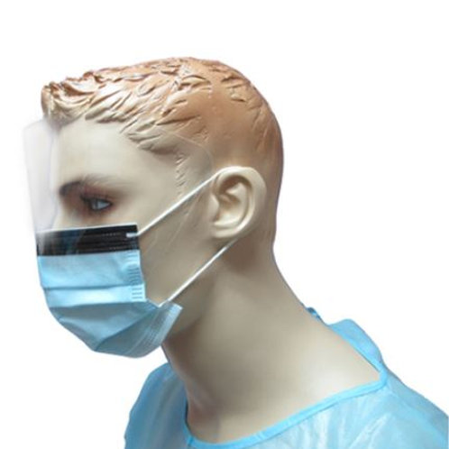 Supply: Fluid-resistant Surgical Mask With Fog-free Foam and Antiglare Eyeshield