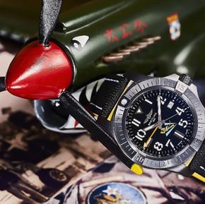 【臺客玩錶】欠收藏!百年靈「飛虎隊」80週年限量款,傳奇「飛虎標誌」竟是迪士尼手筆?/The Story of Breitling 'sFlying Tiger