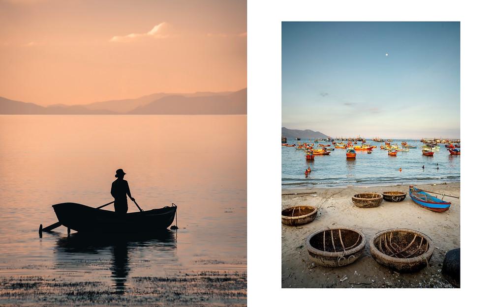 《Edition Fifty Fathomas》(《五十噚特刊》)攝影集中紀錄海洋文化的作品。(Photo/Blancpain)